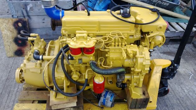 1992 Yr Lister CS4 (FORD 2722E) 72hp Marine Diesel Engine Package