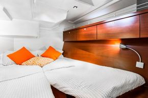 Two double aft cabins