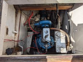 Gaff Rigged Cutter  - Engine Room