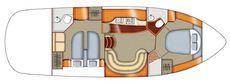 Sealine S42 Layout