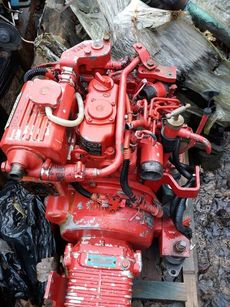 Beta 16 Marine Diesel Engine Breaking For Spares