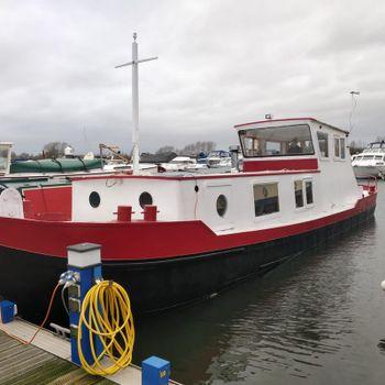 51ft Dutch Barge - Part Project