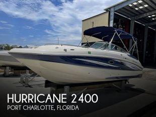 2009 Hurricane Sundeck 2400 OB
