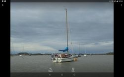 Four berth weekender or day sailing cruiser