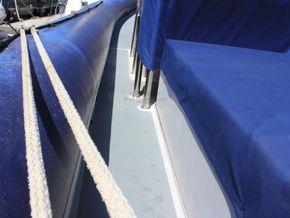 South Boats 9m RIB  - Side Deck