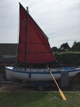 16ft Hastings Lugger
