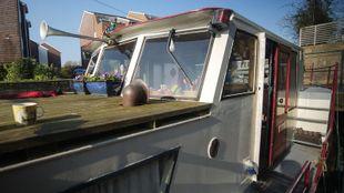 Dutch barge, widebeam, liveaboard, boat