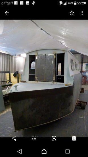 25ft narrowboat project