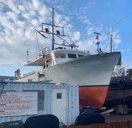 65' DMR Offshore Fiberglass Lobster Scallop Fishing Vessel