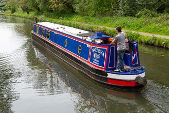 Keith Wood 60 foot semi-trad narrowboat