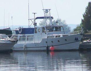 1968 36' Twin Screw Trawler