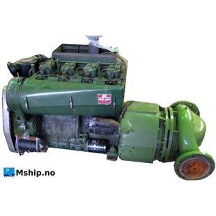VM diese engine type 1054 with waterpump