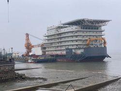 460man Accommodation Work Barge