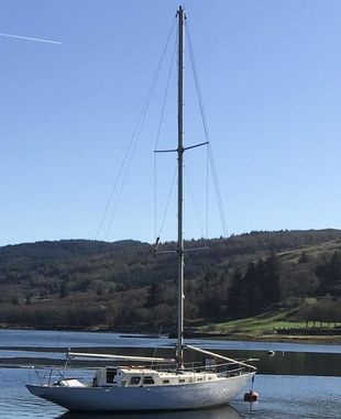 Project Long Keel 38' Wooden Yacht