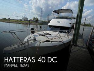 1991 Hatteras 40 DC