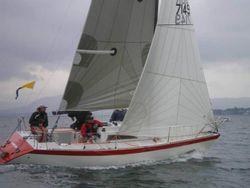 Starflash Quarter ton racing yacht