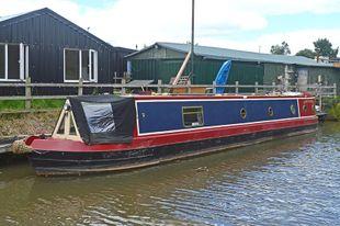 50ft Trad Stern Narrowboat