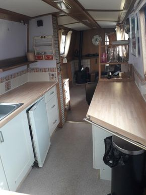 Galley and lounge