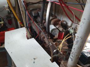 Bruce Roberts Spray 46, Cutter Rigged Ketch  - Engine