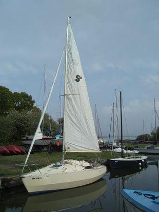 Swift 18 Trailer sailer