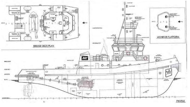 [TUG450] Towing/Pushing Tug boat, 3620 bhp