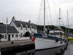 Scottish Converted Fishing Boat