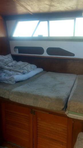 Aft bedroom dbl bed