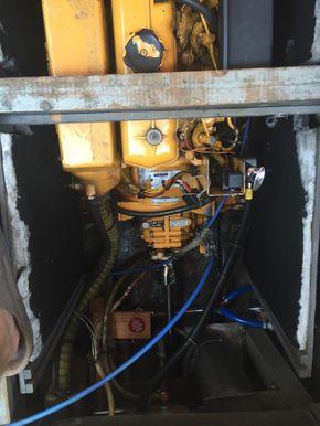 Vetus 33HP engine