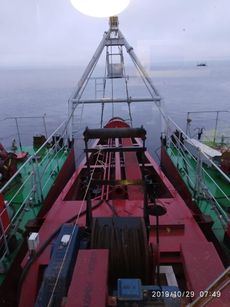 [DRG093] River non self-propelled diesel dredger