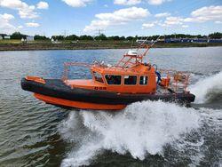 10 mtr. Inboard Diesel Waterjet Rescue Cabin Boat for sale