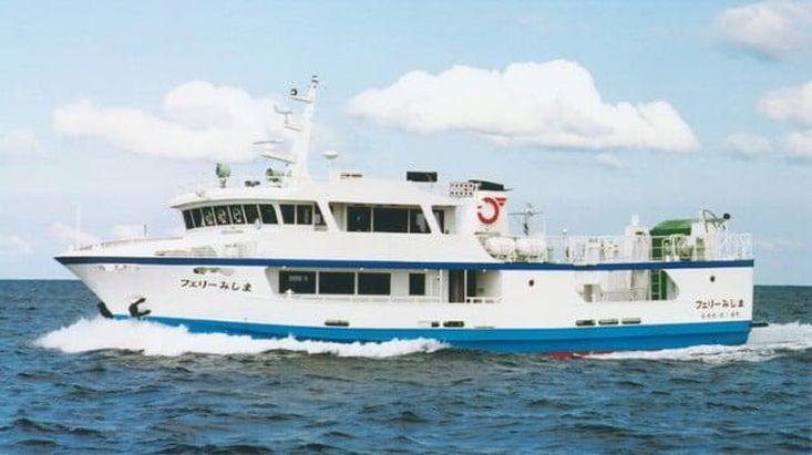 2 x 50 meter RoPax Ferries for sale