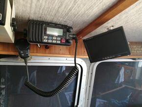 vhf and camera screen
