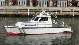 1982 45' Gladding Hearn Built Crew Boat
