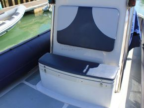 South Boats 9m RIB  - Foredeck