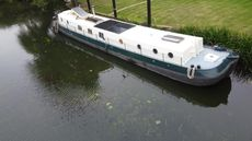 Dutch Barge renovated