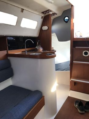 Galley and aft cabin