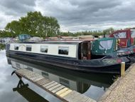45ft Cruiser Stern Narrowboat  Built by Walsall Boat Builders in 1988.