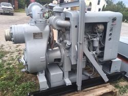 "6"" Gorman Rupp DD Driven Water Pump  NEW LISTING"