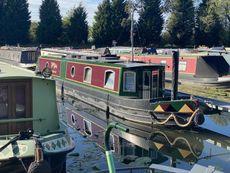 2019 Cruiser Stern narrowboat 55'