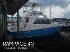 1987 Rampage 40 Convertible