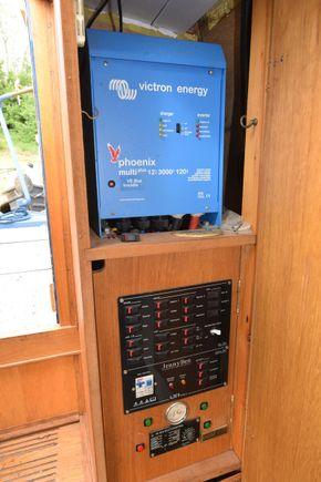 Electrics cupboard