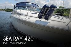 1990 Sea Ray 420 Sundancer