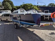 Trailable Catamaran Strider 24