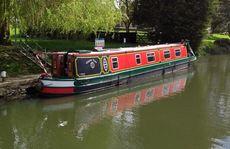 Pretty, traditional narrow boat