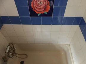 bathroom- bath and tilework