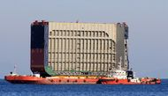 6000 DWT RORO Flat Top Ballastable Barge