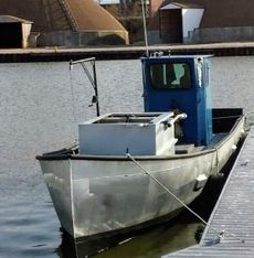 1990 36' x 9.3' x 4.2' Steel Trapnetter/Minnow Boat