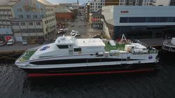 High Speed catamaran with big cargo room ready for delivery!