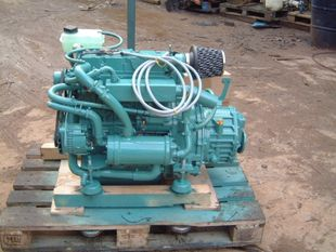 Perkins 55hp engine