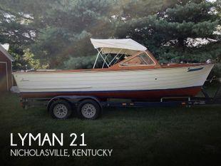 1965 Lyman 21 Inboard-Outboard